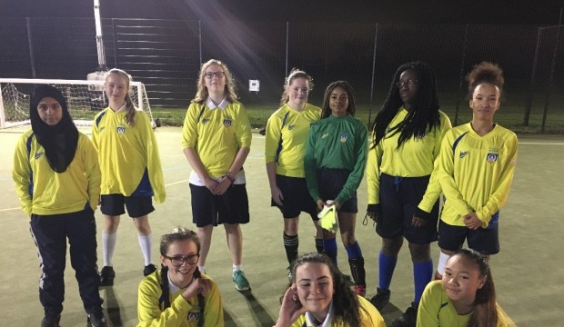 Under 16s girls football