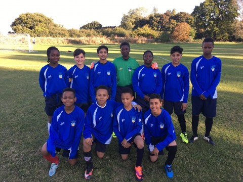 Year 7 boys football