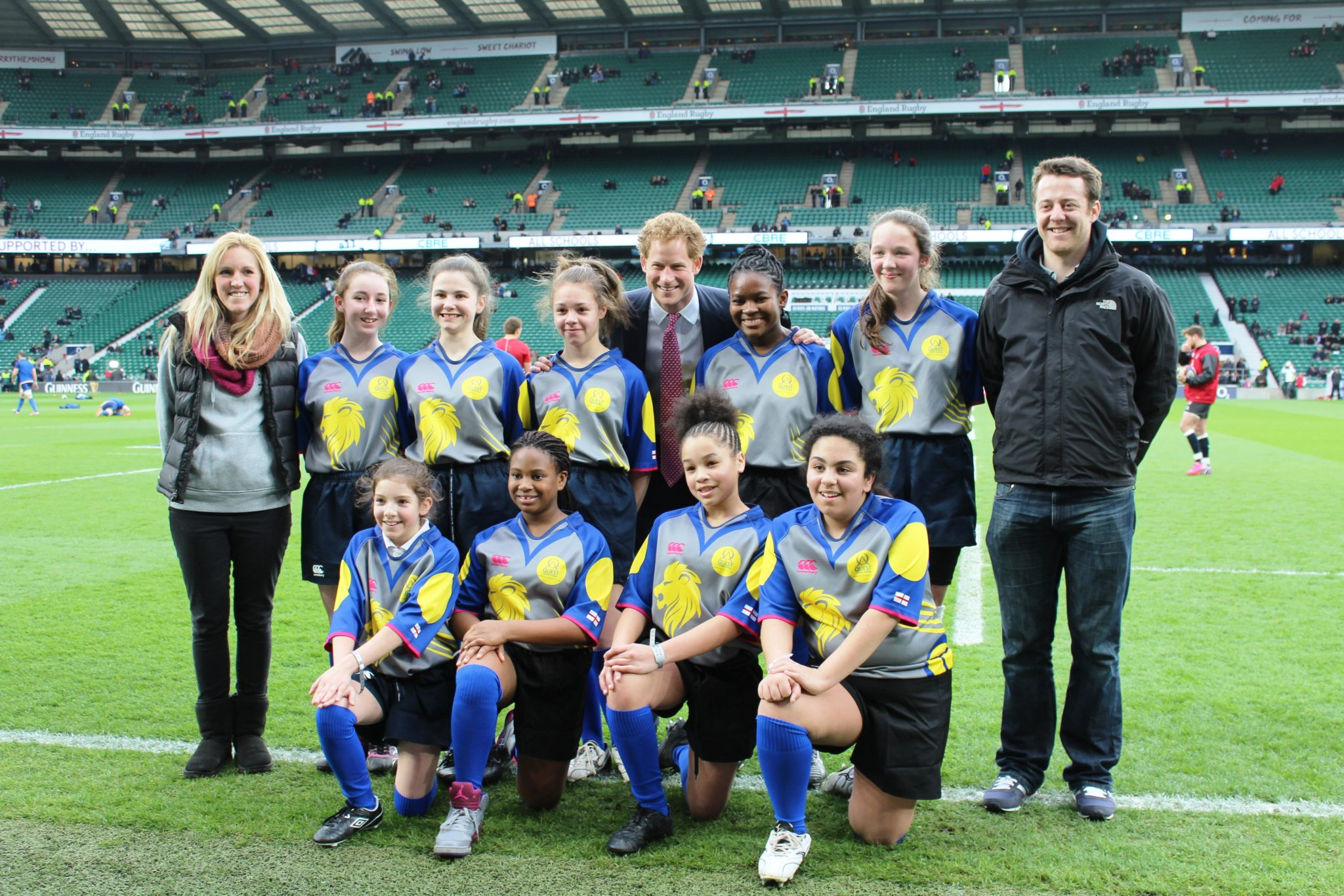 The Quest Academy And Sixth Form In Croydon Rugby Girls