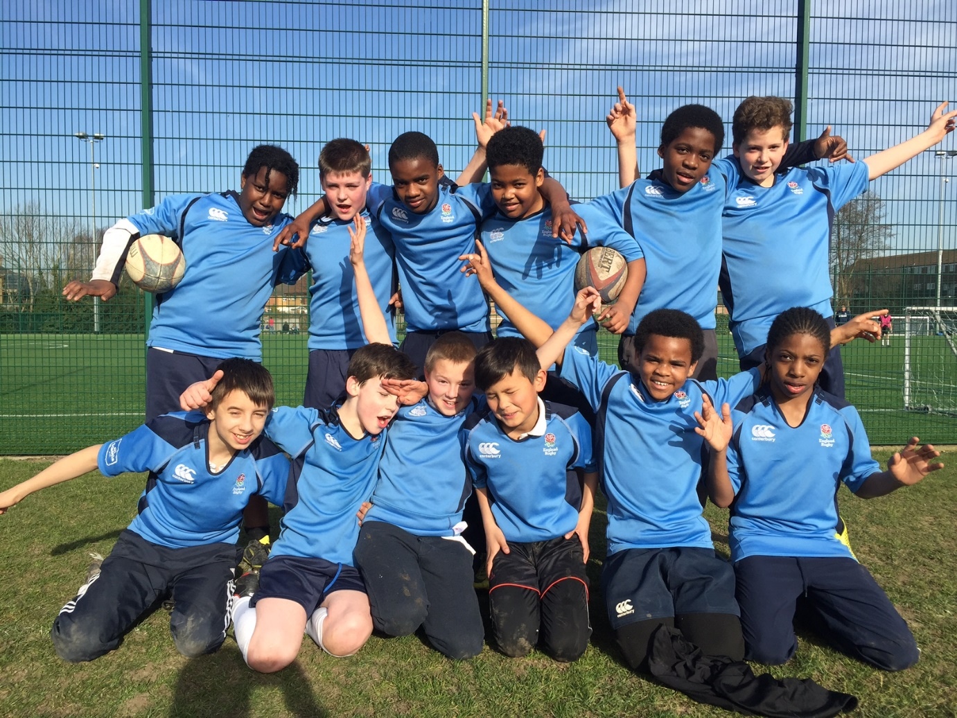 Quest Academy School In South Croydon Year 7 Rugby